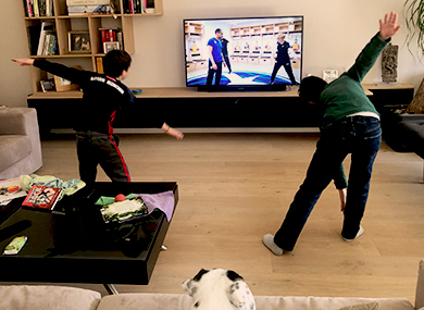distance learning sport at home